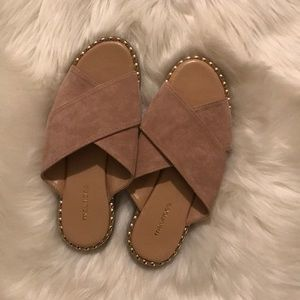 Maurices faux suede sandals